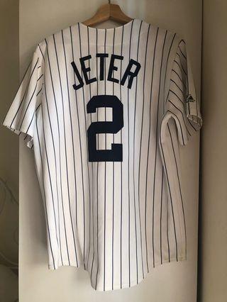 Yankees Jeter Baseball Jersey- genuine merch