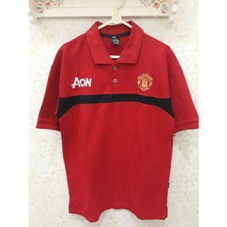 Kaos Lengan Pendek Pria MU Manchester United Preloved