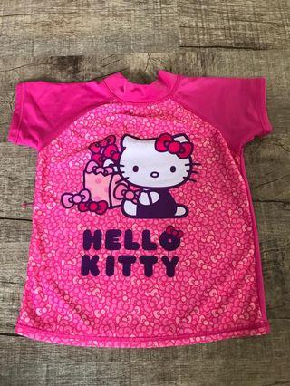 🚚 Dry fit material Hello Kitty