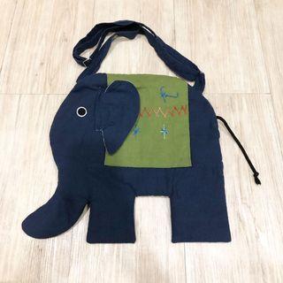 Tas Slempang Anak / Dewasa - Bentuk Gajah *Made in Thailand*