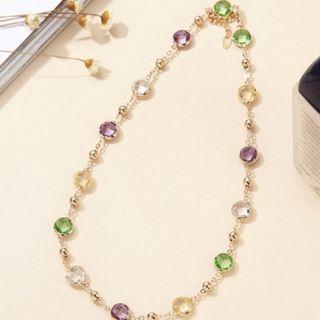 High Quality Genuine Swarovski Crystals 2-in-1 Necklace/Bracelet - New