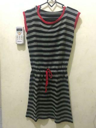 #BAPAU Mididress Stripe