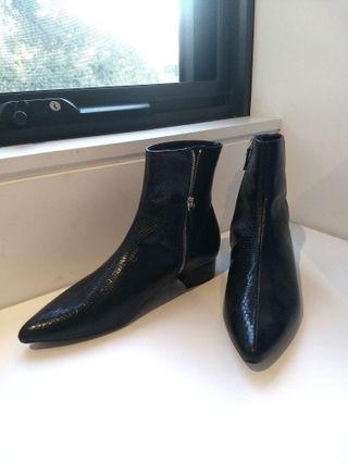 Zara Croc Boots