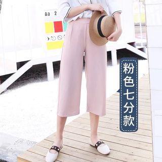 Pink Capri Pants / three quarter pants