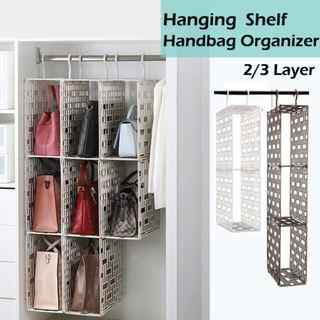 🏅🏅EKET-HANGING SHELF HANDBAG ORGANIZER
