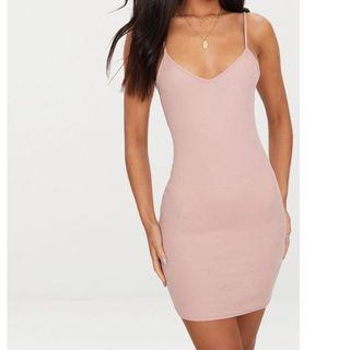 Pretty Little Thing Ribbed Dress