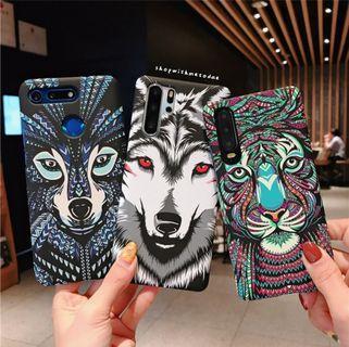 Tribal Animal Glow Huawei P30 Pro / Mate 20 / Nova 4e casing