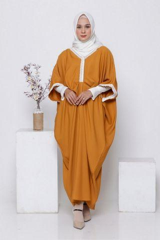 Kaftan Orange Jingga