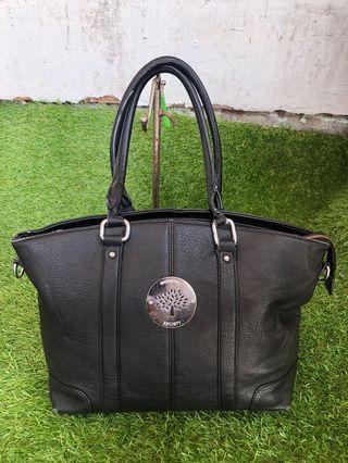 Bundle Mulberry Black Leather Handbag