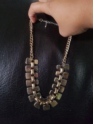 Gold Necklace kalung
