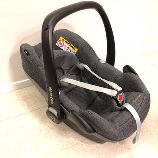 Maxi Cosi Pebble 2017 Sparkling Grey infant car seat