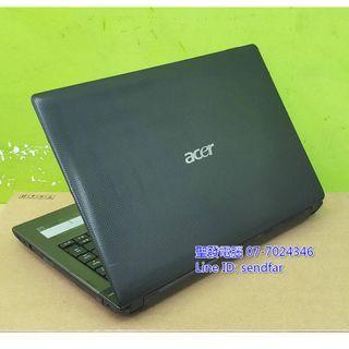 全新電池 全新240SSD 高效LOL全開 ACER AS4750G i5-2410M 4G 獨顯 14吋 聖發二手筆電