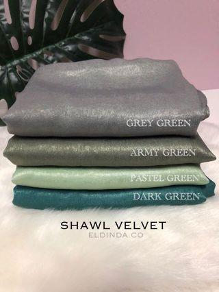 Shawl Satin Velvet