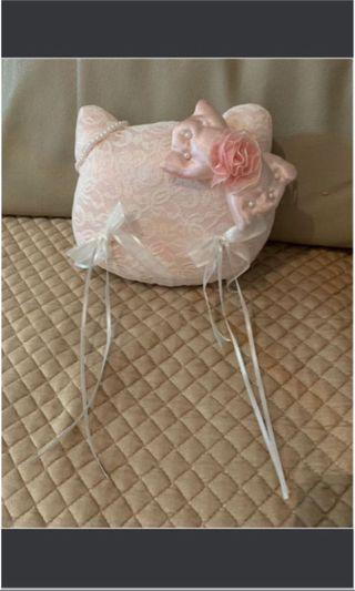 Sanrio Hello Kitty wedding big day結婚婚禮西式戒指/介子枕 超值優惠 大平賣