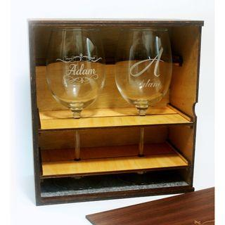 Custom Wine Glass with Gift Box