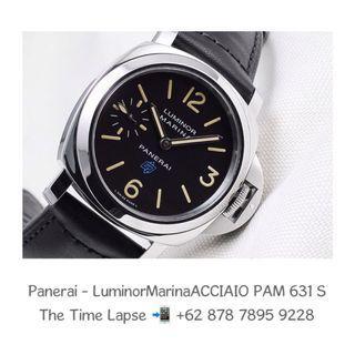 Panerai - Luminor Marina Logo ACCIAIO PAM 631 'S'
