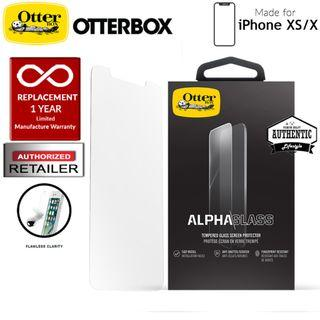 OtterBox Alpha Glass Screen Protector iPhone Xs / X - Clear