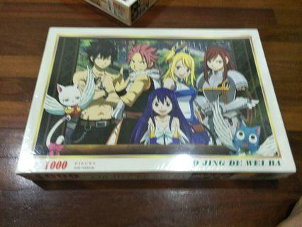 Fairy Tail puzzle