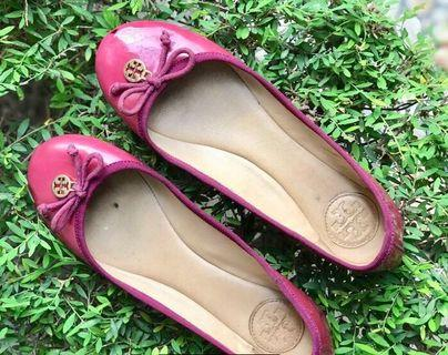 Tory burch ballerina preloved authentic