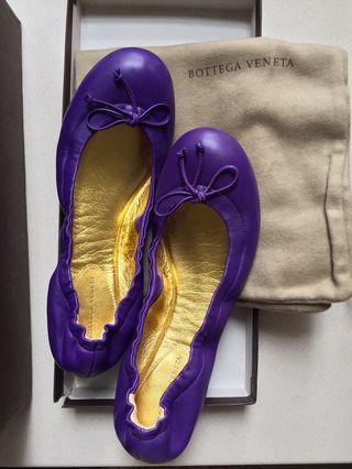 Bottega Veneta flat shoes size 36C (full set) shoes bag and box