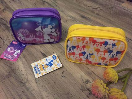 Disney travel make up pouch