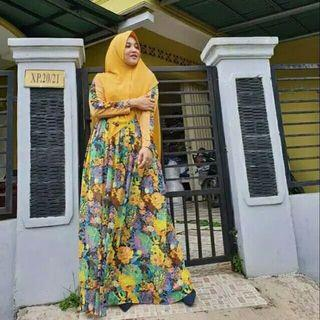 #mauvivo New Dress Kalea by Faaliza size M. Only gamis