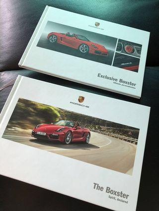 Porsche Boxster  官方介紹書 送出