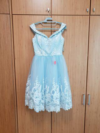 Chichi Blue Prom Dress