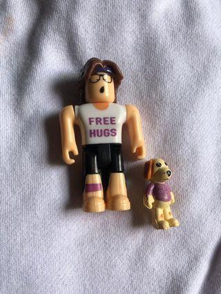 [ROBLOX] Girl Toy Figurine