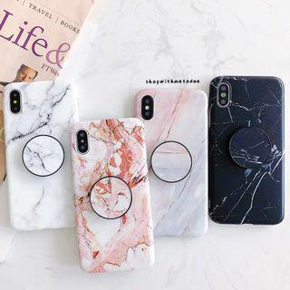 Marble Oppo R17 / Vivo x21 / Iphone XR / XS Max / X casing