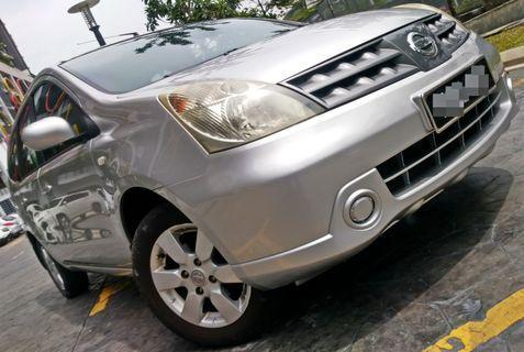 2009 Nissan GRAND LIVINA 1.6 (A) dp 3990 LOAN KEDAI KERETA .