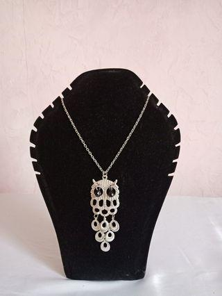 Owl Necklace / Kalung burung hantu