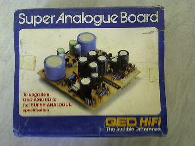 QED super analog board A240