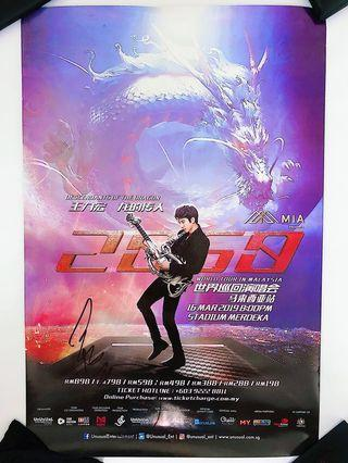 Wang Lee Hom Autographed Poster 2019