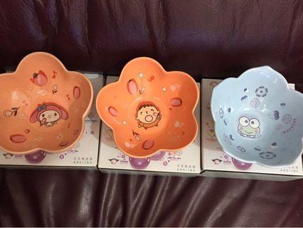 7-11花形陶瓷碗