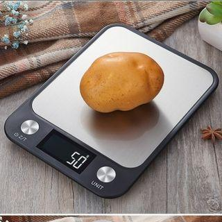 Kitchen Weighing Scale Digital 5kg/1g Large LCD Display (Batteries Included) [NEW]