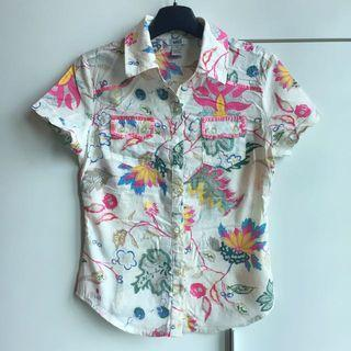 MNG Floral Shirt