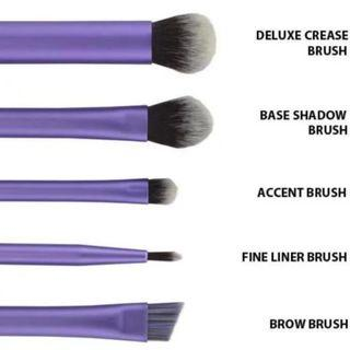 Restsock Assorted Authentic Real Techniques Eye Enhanced Makeup Brushes By Samantha Chapman