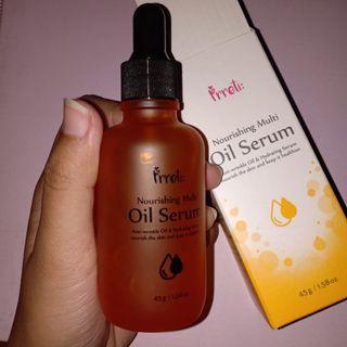 Oil serum nourishing