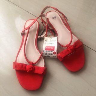 Red Shoes H&M #BAPAU