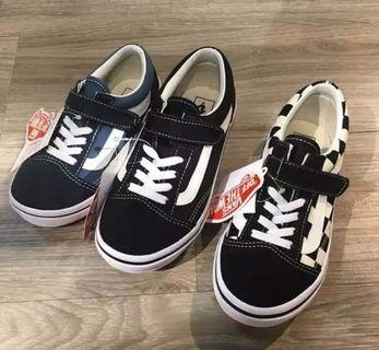 小童vans 布鞋
