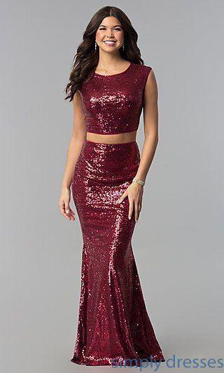BNIP Sequin Long Skirt