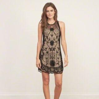 Abercrombie Black Lace Dress