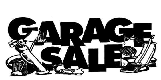 Garage Sales: Everything MUST go this weekend