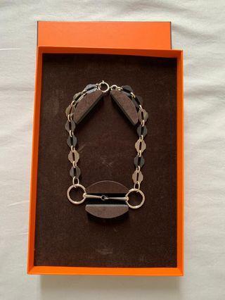 Hermes Horn Necklace