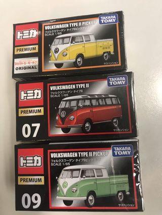 全新 original TAKARA TOMY TOMICA PREMIUM Volkswagen Type II Pickup 福士 貨車 車仔 玩具 VW