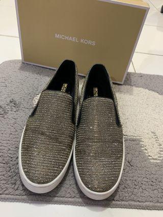 Sepatu Michael Kors Wanita Original Blink Glitter