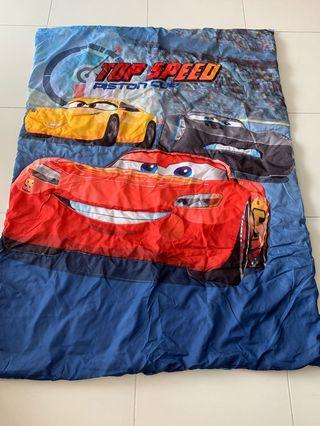 Instock now!! Mc queen kids blankets gd quality brand new Ht 150cm wt110cm