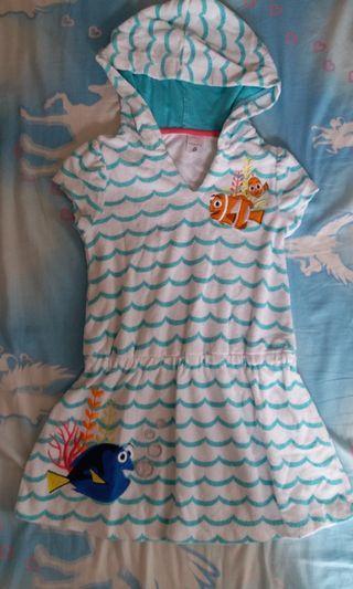 迪士尼 Disneyland Nemo 女童 連身裙 4-6Y