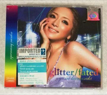 濱崎步Ayumi Hamasaki - Glitter/Fated、Blue Bird單曲_每張RM 20